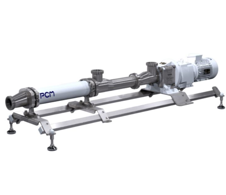 PCM screw pump sanitary